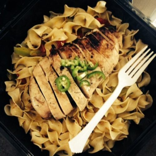 Jalapeno Chicken Pasta